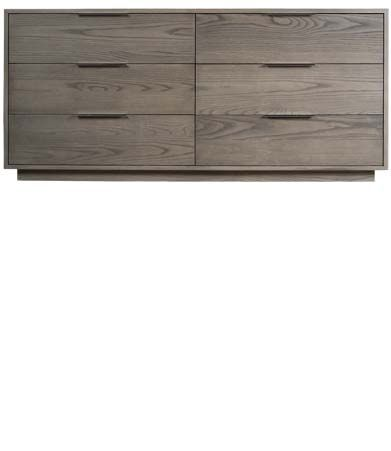 Dartmoor Six Drawer Dresser : Dartmoor Six Drawer Dresser. Another bedroom dresser option, i would do a cherry wood in grey so the wood grain is less pronounced