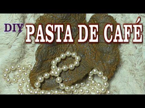 DIY PASTA DE CAFÉ, ESPECIAL PARA IMITACIONES DE METAL - COFFE PASTE FOR IMITATIÓN METAL, - YouTube