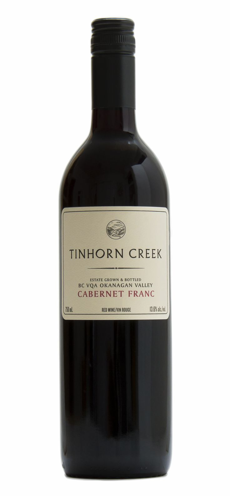 Tinhorn Creek Cabernet Franc. Tasting Notes: The nose has blackberries and licorice up front, softens to yield stewed cherries and a touch of orange peel. Palate is surprisingly plush and soft for a young Cabernet. It has layers of red fruit and spice with typical Okanagan bright acidity that gives it plenty of life and length. Finish is persistent with a warm cherry and vanilla flavour and supple tannins.