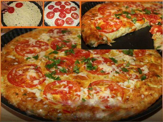 Кабачкова піца