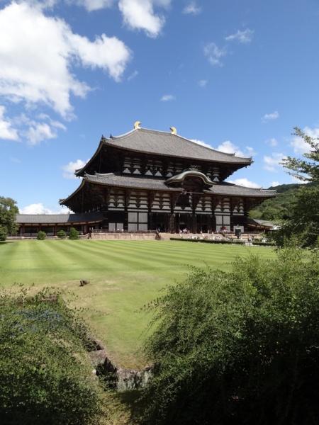 Todaiji Nara, Japan biggest wooden building in the world