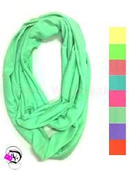 Solid Infinity Scarf - Multiple Colors $10.99