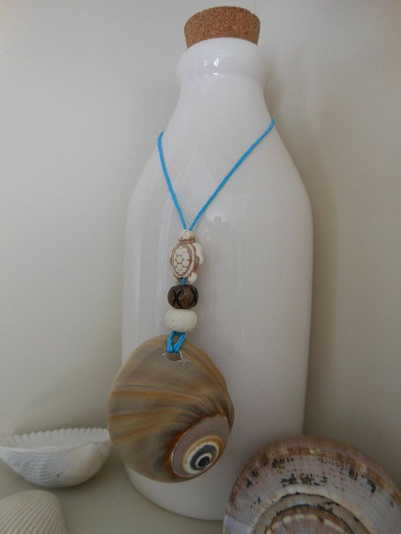 Seashell Gift Tag Wine Bottle Jewelry Moon Snail Shell Wine Charm Wine Bottle Bling Bottle Charm Bead Decor Bea Wine Bottle Jewelry Bling Bottles Bottle Charms