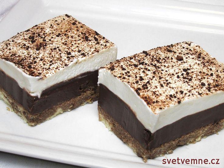 Andělský zákusek s čokoládovým likérem, recept