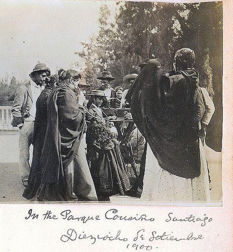18 de septiembre de 1900 parque Cousiño