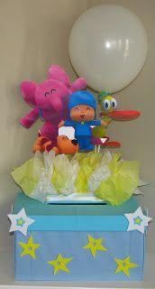 Caja de sobres Pocoyo / Pocoyo Envelopes Box      Chupetero Pocoyo / Pocoyo's Candy holder      Jugos Pocoyo / Pocoyo Juices      Jugos P...