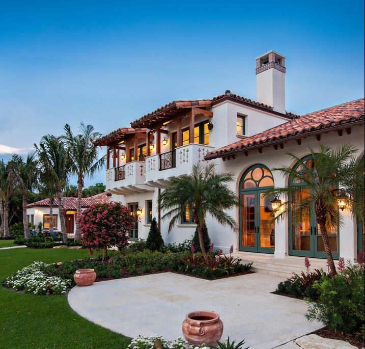 Spanish Eclectic Style Combines All The Elements Of