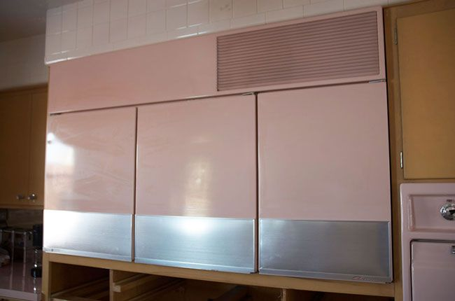 Pink Cupboards!