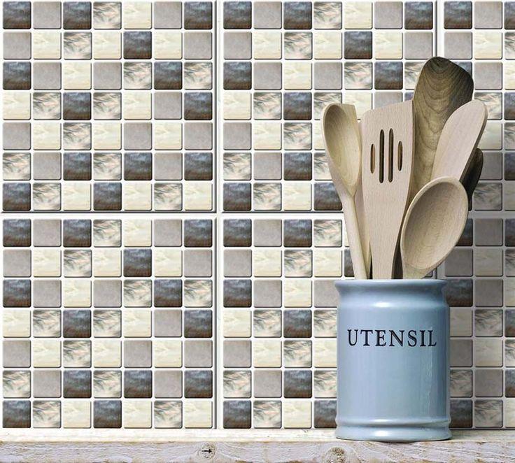 Více než 20 nejlepších nápadů na Pinterestu na téma Mosaik Fliesen - pvc fliesen küche