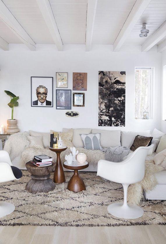 Stylist Tone Krokens lovely livingroom! kkliving.no