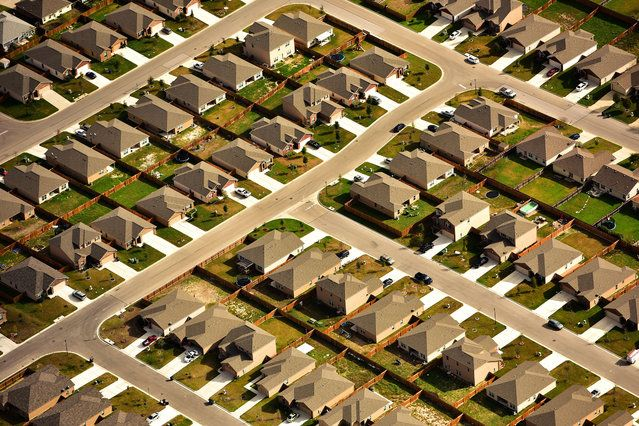 United States From The Air - Texas suburbs | www.piclectica.com #piclectica