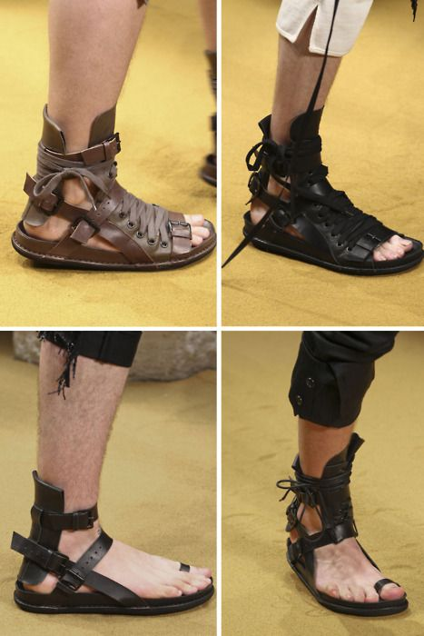 Ann Demeulemeester Spring/Summer 2012 footwear...YOU KNOW WHAT!?! YES!!