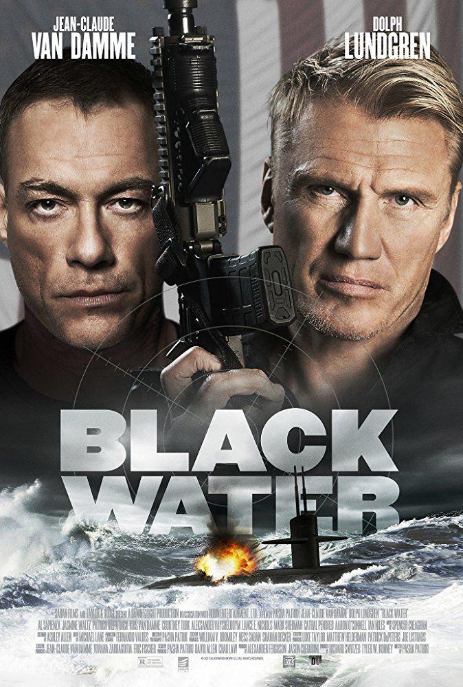 Dolph Lundgren And Jean Claude Van Damme In Black Water 2018
