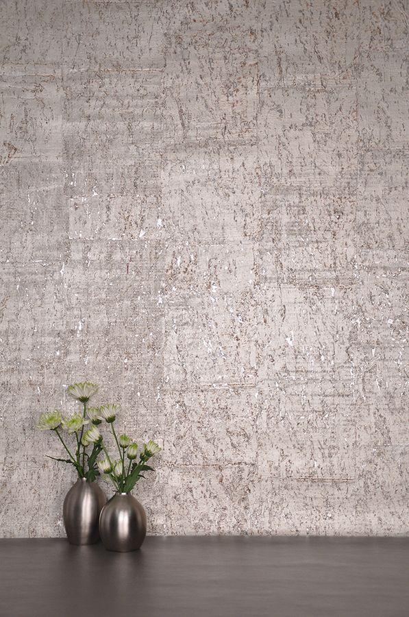 Gilded Cork Wallpaper
