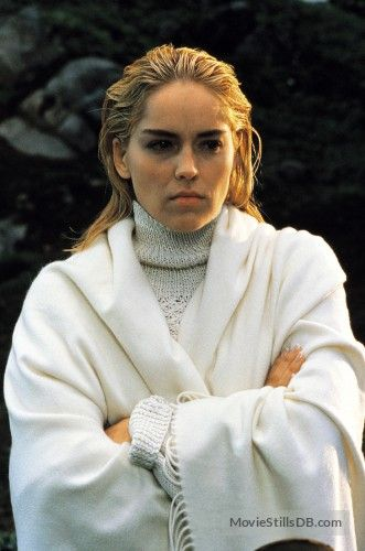 Sharon Stone as Catherine Tramell
