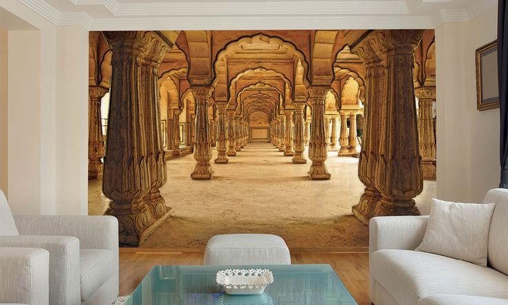 3d wall mural groupon offer interior design d i y for 3d mural art in india