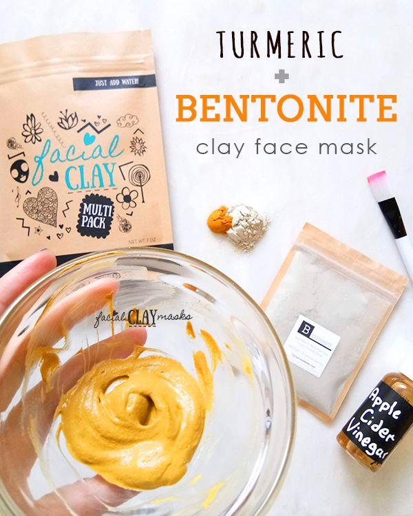 Bentonite Turmeric Mask That S Crazy Good On Acne Recipe Bentonite Clay Face Mask Clay Face Mask Turmeric Face Mask