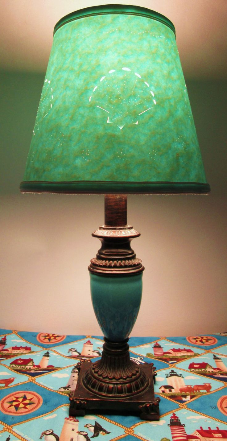 37 best a shady deal lampshades images on pinterest lamp bases lampshade small cut paper lamp shade cut and pierced seashell design lovely hard aloadofball Image collections