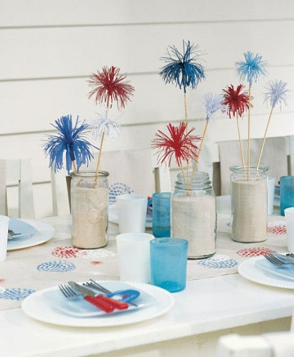 Cool Ideas of 4th of July Table Decorations
