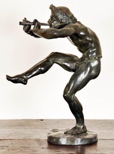 Bronze Sculpture of Pan