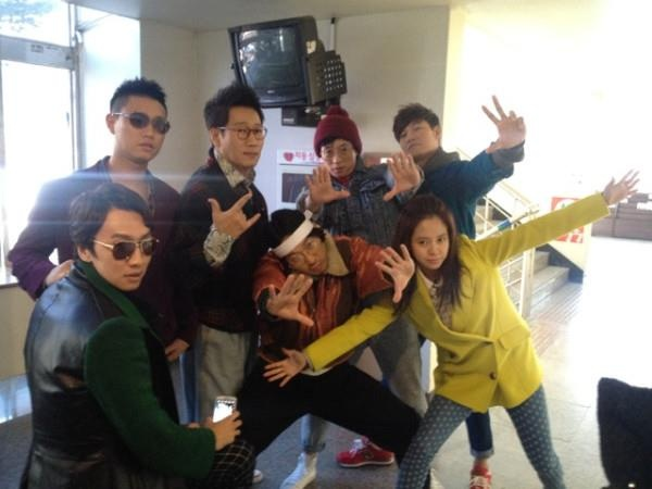 This pretty much sums the Running Man cast up in one picture.