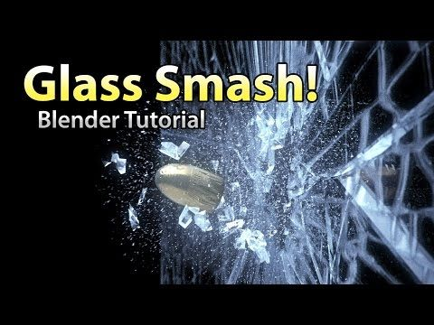 Create a Realistic Animation of a Bullet Shattering Glass in Blender - Lesterbanks