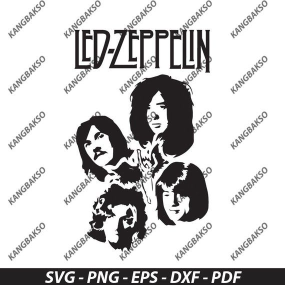 Pin By Claire Lewis On Led Zeppelin Led Zeppelin Cricut Svg Svg