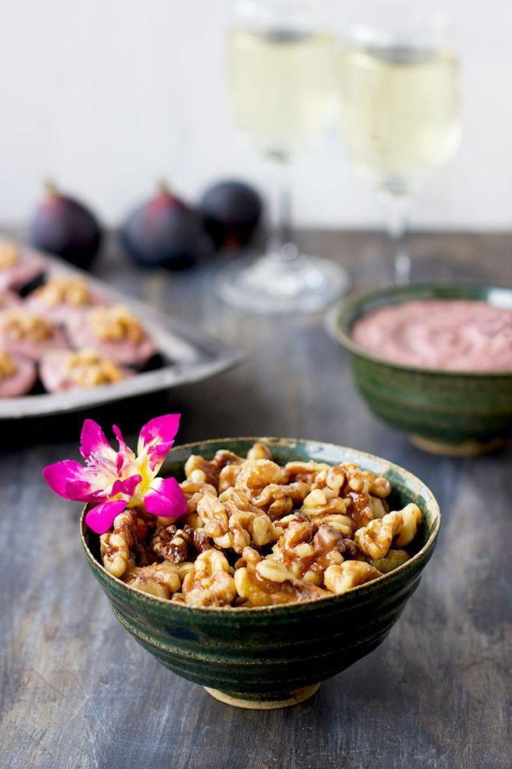 Maple Caramelized Walnuts - CaliZona