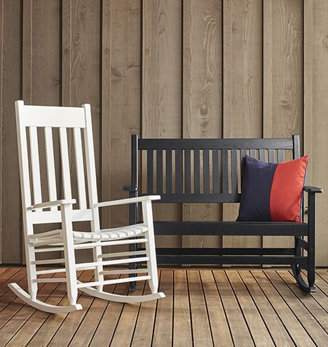 outdoor rocking chairs pillows