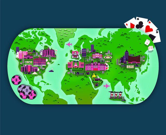 Crush | Casino Map Illustration