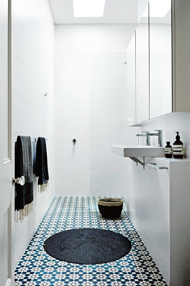 Shallow Wall Of Cabinets To Maximise Storage In Narrow Bathroom Home Pinterest Home
