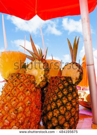 Drinks tropical climate of Brazil