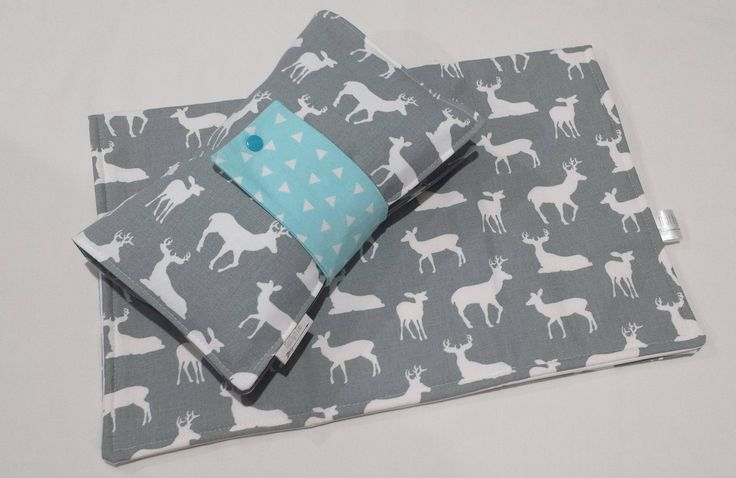 Ready To Post Deer Silhouette Nappy Wallet Gift Set - Babyshower Gift by MattynMe on Etsy