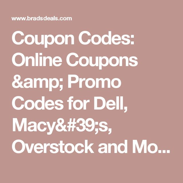Best 25 overstock coupon code ideas on pinterest best buy promo coupon codes online coupons promo codes for dell macys overstock and more fandeluxe Image collections