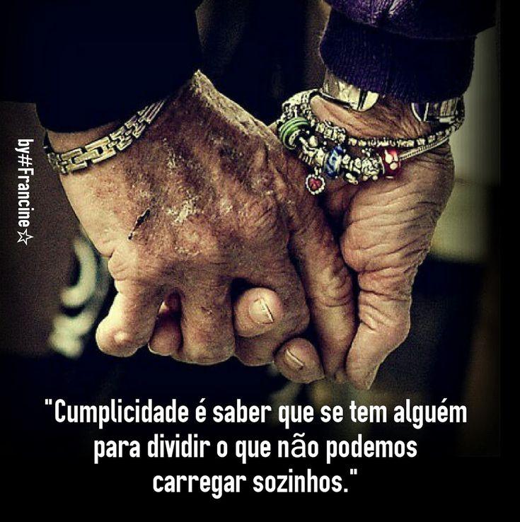 #A felicidade suprema reside na cumplicidade de um amor VERDADEIRO.# - Francine Corrêa - Google+