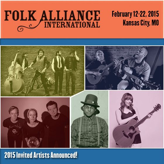 2015 Folk Alliance Conference showcase artists announced
