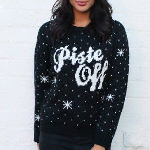 A little Off Piste   #ChristmasJumpers  via @maivien
