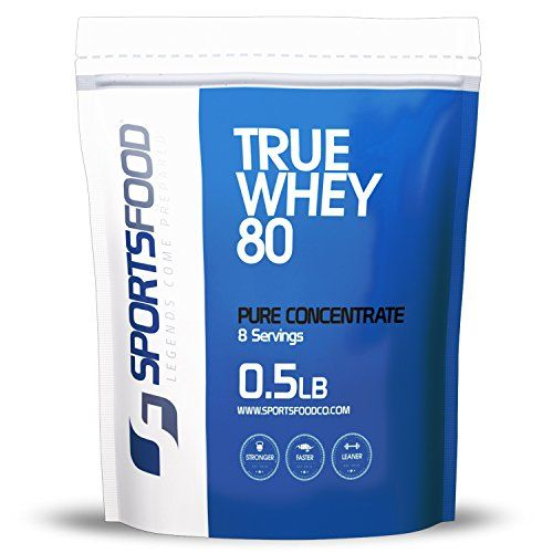 Sports Food True Whey 80 Protein Concentrate (Triple Chocolate, 1 Serving) 80% Protein, LOW Carbs & Fat, ZERO Sugar, NO BCAA SPIKING