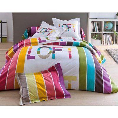housse de couette imprim loft becquet la chambre en mode printemps avec becquet pinterest. Black Bedroom Furniture Sets. Home Design Ideas