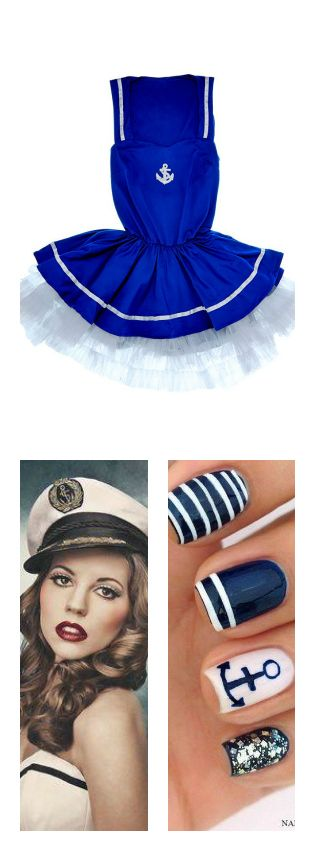 Sailor Halloween Costume from Adore Me Lingerie