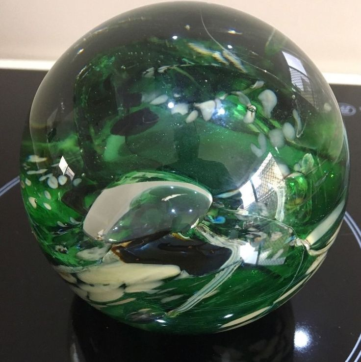 CHRIS PANTANO  RAINFOREST MAGNUM PAPERWEIGHT SIGNED AND NUMBERED