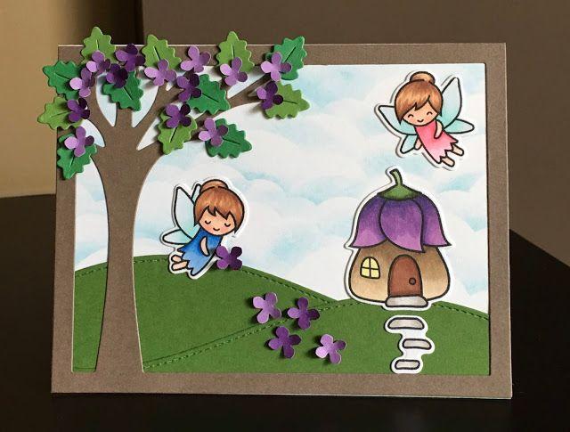 Mocha Frap Scrapper: Spring Fairies