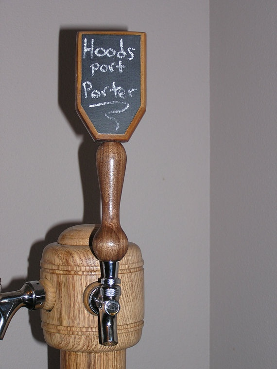 Black Walnut Custom Beer Tap Handle by acwoodworking on Etsy, $40.00