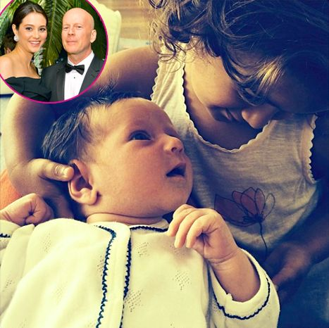 Bruce Willis' Wife Emma Heming-Willis Shares Pic of Baby Evelyn - Us Weekly