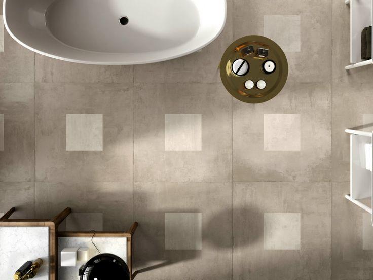 Moderní dekorativní obklady se vzorem ve tvaru čtverce EGO | Keramika Soukup