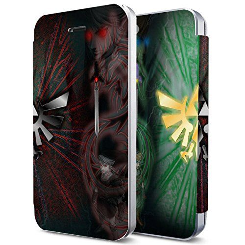 Link Vs Dark Link the Legend of Zelda Custom Flip Cover for Iphone 6 and Iphone 6 Plus (Flip Cover iPhone 6) flip cover http://www.amazon.com/dp/B00XHPFNYI/ref=cm_sw_r_pi_dp_R6bxvb01CHF82