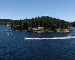 April Point Resort and Spa on Quadra Island - looks gorgeous plus they offer several different tour packages!