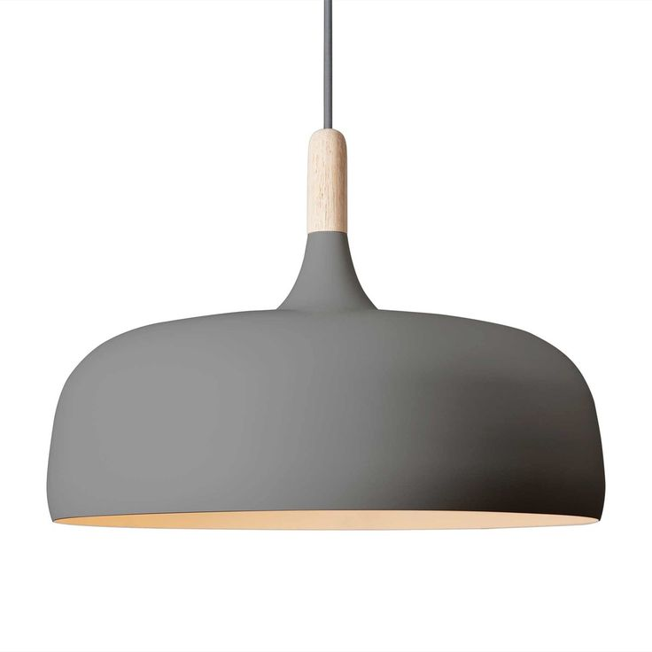 Die northernlighting - Acorn Pendelleuchte in grau