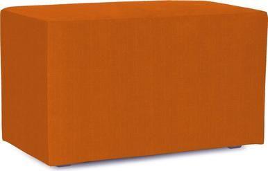 Bench HOWARD ELLIOTT UNIVERSAL Canyon Soft Linen-Like Texture Orange Line HE-254