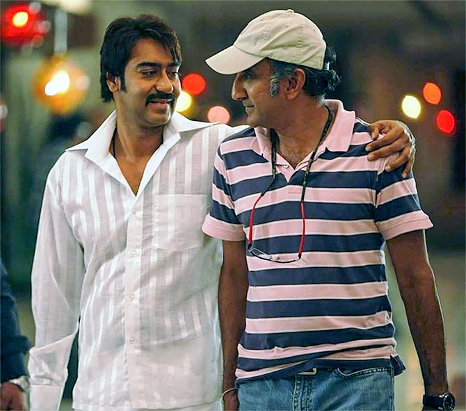 """'I don't make boring films''End of the day, my thing is, entertainment, entertainment, entertainment.'   IMAGE: Ajay Devgn with Milan Luthria. Photograph: Kind courtesy Baadshaho/Instagram Milan Luthria's movies have one element that can never go wrong: The dialogues. Baadshaho wins in that aspect as well. His latest film has got neither decent reviews nor decent box office collections, but the director defends his choice of subject. """"People are fed up of romantic stories. They want either a…"""